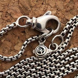 David Yurman Jewelry - Authentic David Yurman Diamond cross necklace
